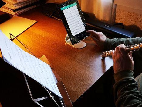 Los alumnos de Cultura retoman sus clases on line