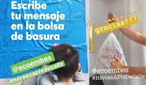Reconocimiento a los #HéroesAPieDeCalle de la recogida de residuos