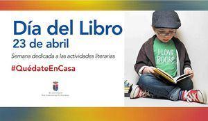 San Lorenzo de El Escorial celebra el Día del Libro desde casa
