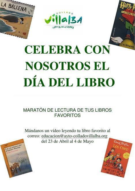 Collado Villalba celebra un maratón de lectura online