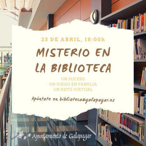 Un juego virtual de pistas celebra el Día del Libro en Galapagar