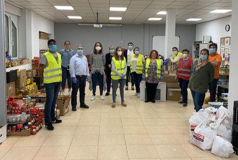 La Operación Kilo-Covid recoge más de 10.000 kilos de alimentos