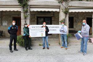 La Sociedad de Cazadores dona 2.000 mascarillas