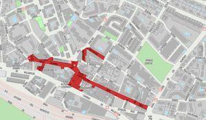 El PSOE propone ampliar las zonas peatonales los fines de semana