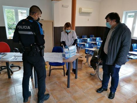 Galapagar realiza test de coronavirus a la Policía Local y Protección Civil
