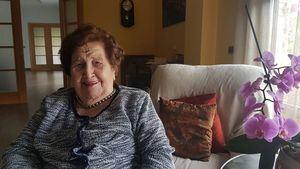 Homenaje a Elisa, que a sus 97 años ha superado el coronavirus