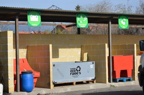 Guadarrama recupera el servicio del Punto Limpio Municipal