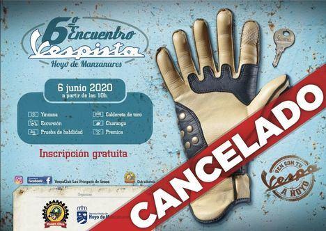 El Encuentro Vespista de Hoyo, cancelado este año