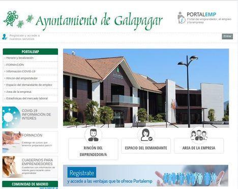 Galapagar estrena nuevo Portal de Empleo