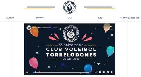 El Club de Voleibol de Torrelodones celebra su 5º aniversario en la distancia