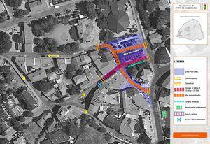 Hoyo de Manzanares amplía sus zonas peatonales