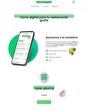 Cartas digitales para restaurantes, una propuesta solidaria nacida en Torrelodones