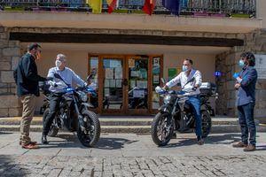 La Policía de Torrelodones estrena dos motos eléctricas Zero
