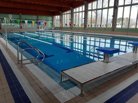 Las piscinas cubiertas de Collado Villalba, abiertas con cita previa