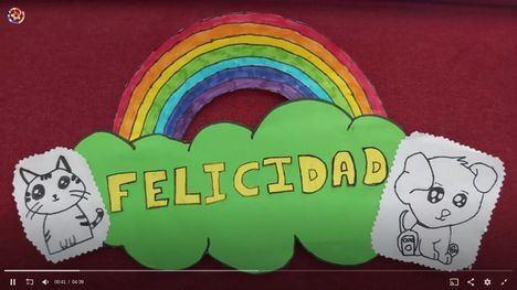 Los escolares de Guadarrama buscan la palabra mas bella de todas