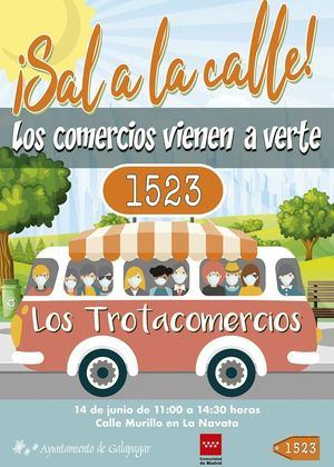 Este domingo 14 de junio vuelven los Trotacomercios a Galapagar