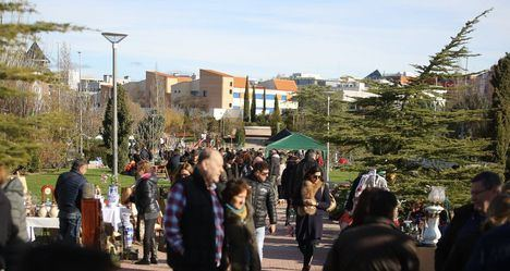 Vuelven los mercados exteriores a las calles de Las Rozas