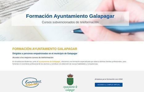 Galapagar lanza un portal de formación on line