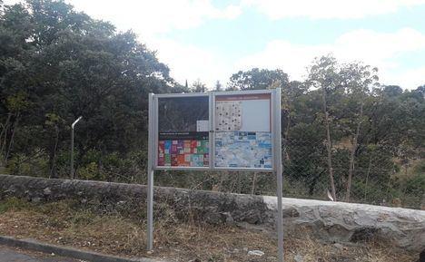 Las urbanizaciones de Torrelodones, señalizadas para su evacuación en caso de incendio
