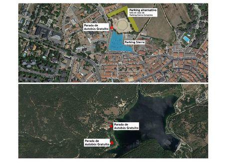 Guadarrama ofrecerá transporte gratuito a La Jarosa en fin de semana