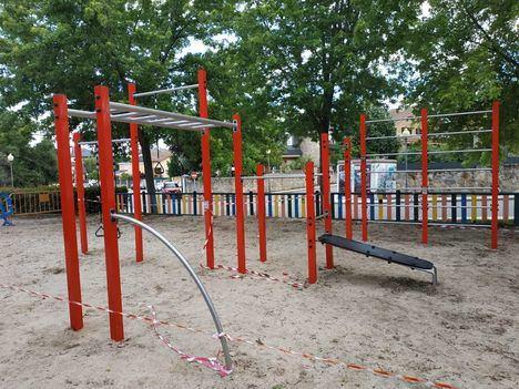 Guadarrama comienza a poner a punto todos sus parques