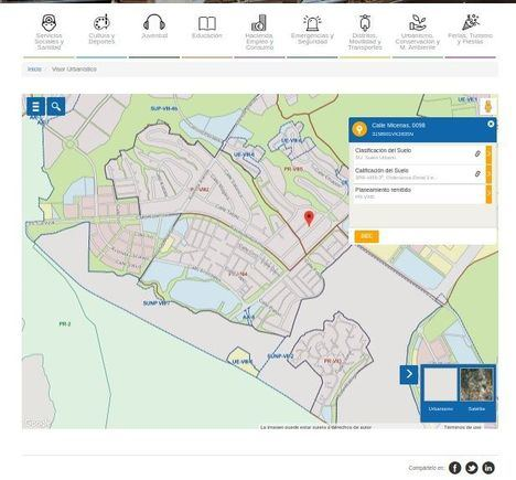 Las Rozas avanza en su proyecto de Smart City con el lanzamiento del nuevo Geoportal
