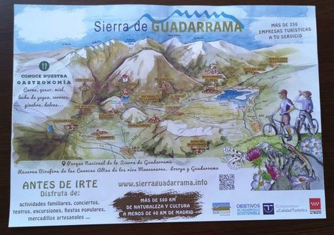 Adesgam pone la Sierra de Guadarrama en las mesas de los restaurantes