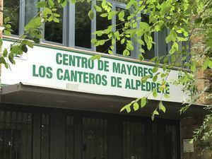 Alpedrete anuncia que los centros de mayores permanecerán cerrados