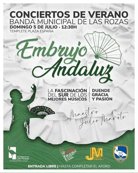 La Banda Municipal de Las Rozas invita a tomar el aperitivo con música española