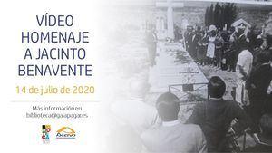 Galapagar prepara un vídeo homenaje a Jacinto Benavente