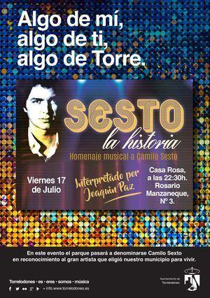 Torrelodones rendirá homenaje a Camilo Sesto en el parque que llevará su nombre