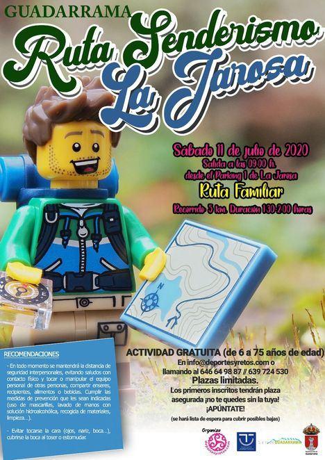 Guadarrama propone una nueva cita para disfrutar del senderismo en La Jarosa