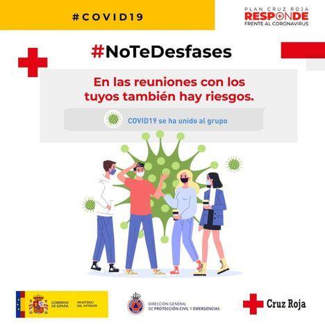 Cruz Roja y Protección Civil lanzan la campaña #NoTeDesfases para este verano