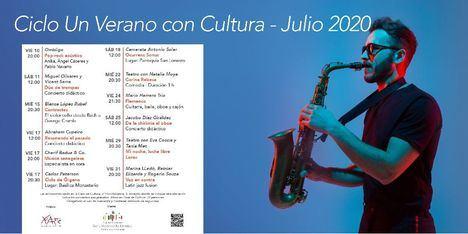 San Lorenzo de El Escorial celebra 'Un verano con Cultura'
