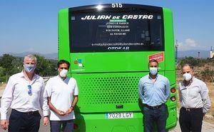 Dos nuevos autobuses para el servicio de transporte urbano de Torrelodones