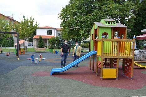 Nuevos juegos infantiles en el Parque Municipal de Guadarrama