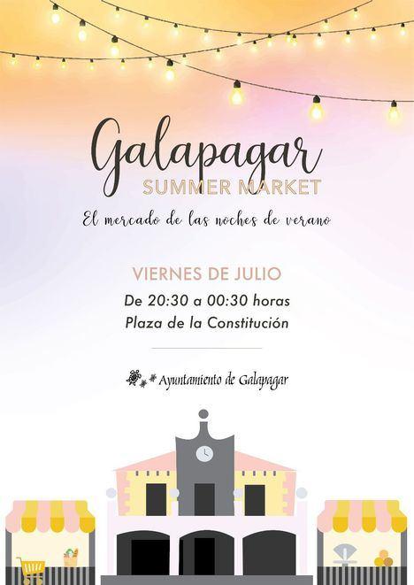 El Galapagar Summer Market se celebrará todos los viernes del verano
