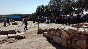 La visigoda Coswinda invita a conocer el yacimiento de La Cabilda, en Hoyo