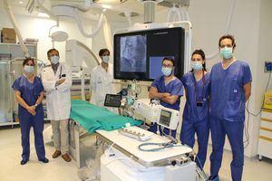 El Hospital Universitario General de Villalba incorpora una Sala de Hemodinámica y Electrofisiología
