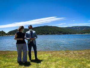 Marta Rivera de la Cruz visita varios municipios de la Sierra de Guadarrama