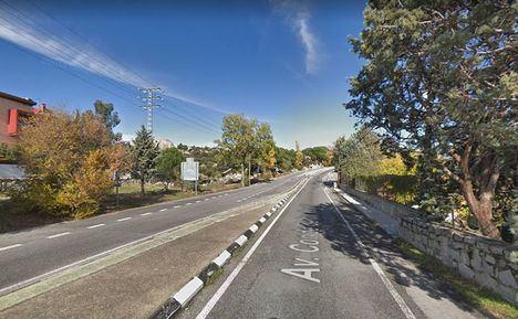 La Comunidad de Madrid reasfaltará esta semana la M-618 en Torrelodones