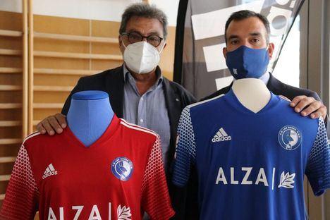 Presentada la nueva camiseta y el nuevo patrocinador que vestirá a Las Rozas CF