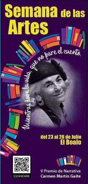 El Boalo conmemora el XX aniversario de la muerte de Carmen Martín Gaite