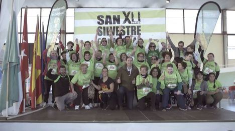 Los mayores de Galapagar protagonizan el documental 'San Silvestre'