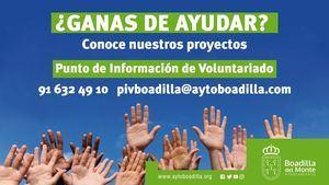 Boadilla inicia una campaña para incentivar el voluntariado