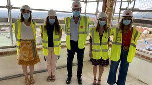 Las obras de la sede judicial de San Lorenzo de El Escorial entran en su última fase