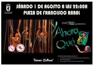 Circo, magia y teatro en la Plaza de Francisco Rabal de Alpedrete