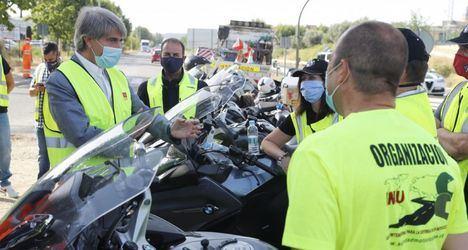 La Comunidad de Madrid anuncia un modelo de seguridad vial específico para motoristas