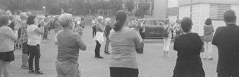 Concentración contra el cierre del Consultorio de Alpedrete durante el verano