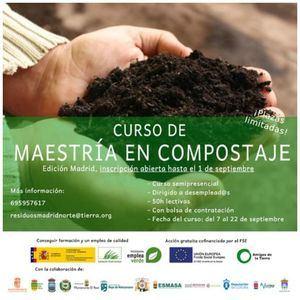 El Escorial anuncia un curso de maestría en compostaje de la Asociación Amigos de la Tierra